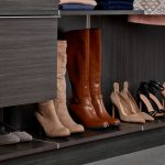 Inspired Closets Close Up or Shoes on a Shelf