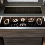 Open Drawer with Jewelry Inside