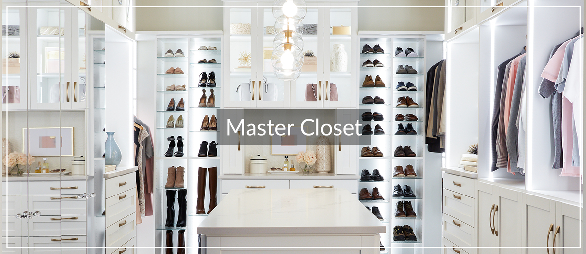 Walk-In Master Boutique Closet with Island for Inspired Closets January 2021 Article