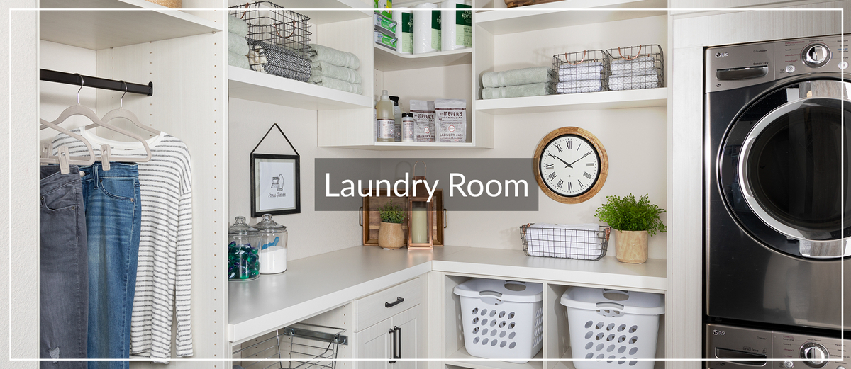 Laundry Room Storage Solutions for Inspired Closets January 2021 Article