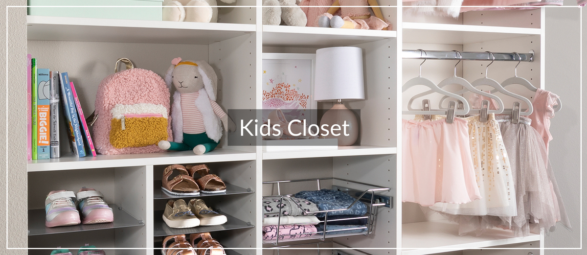 Little Girl Kids Closet Storage for Inspired Closets January 2021 January Article