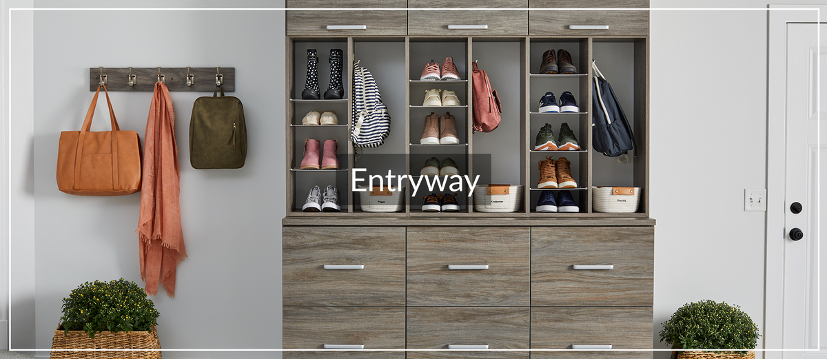 Entryway Shoe Storage for Jan. 2021 Article