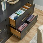 Home office file storage in charcoal from Inspired Closets