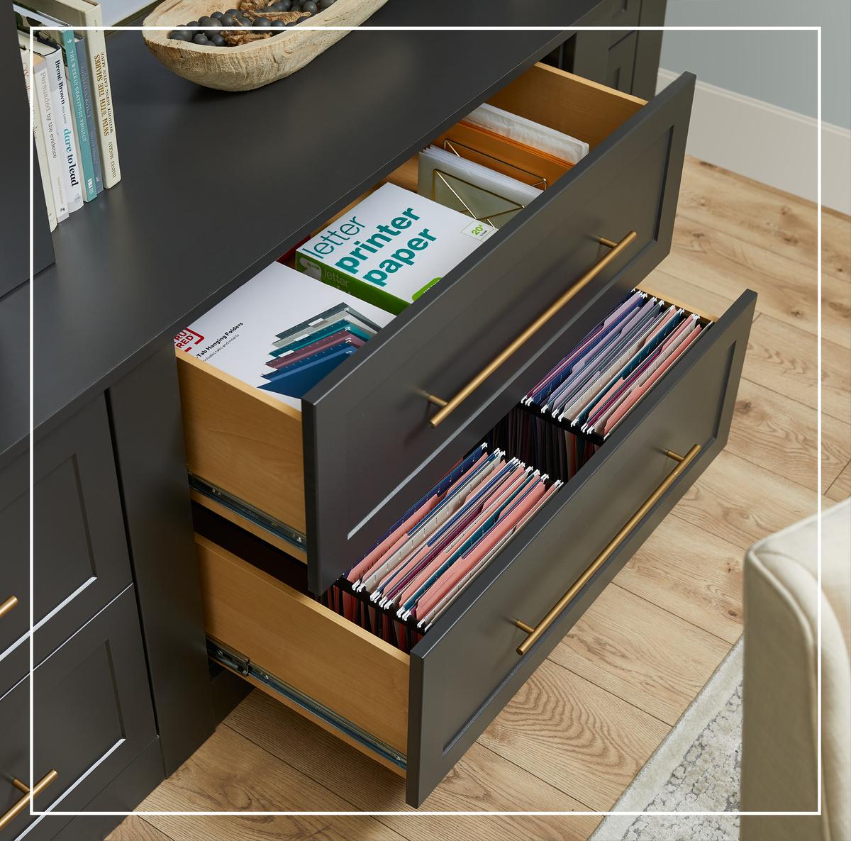 Stylish Storage Filing Drawer