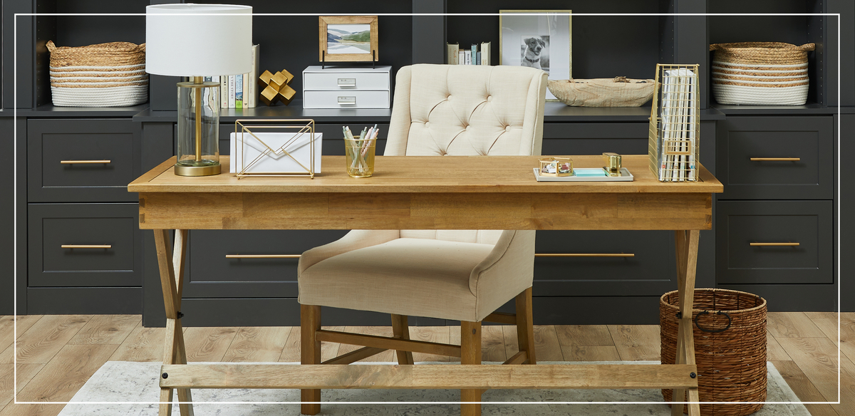 Dedicated home office desk, Inspired Closets Learning Center