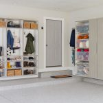 Mudroom reimagined in your garage from Inspired Closets