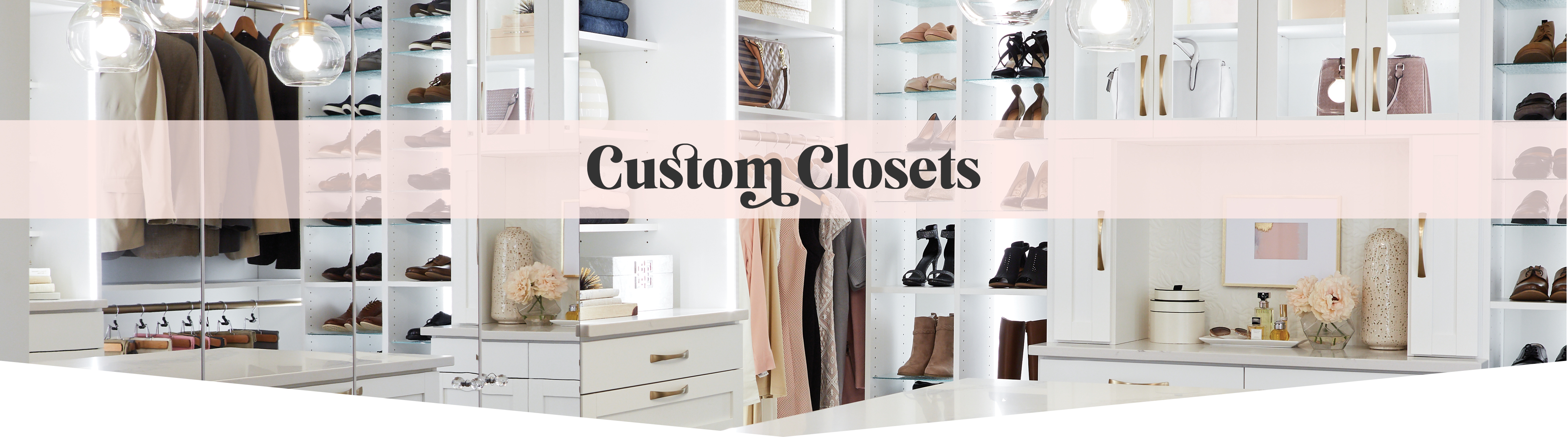 Discover custom closet solutions from Inspired Closets