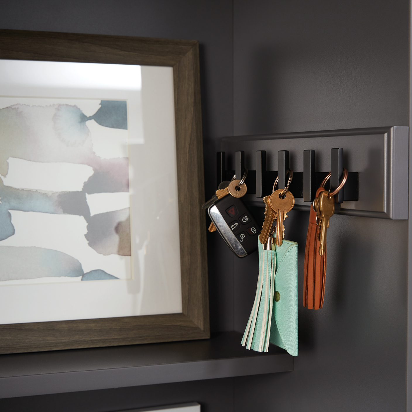 Hooks to keep you from losing your keys