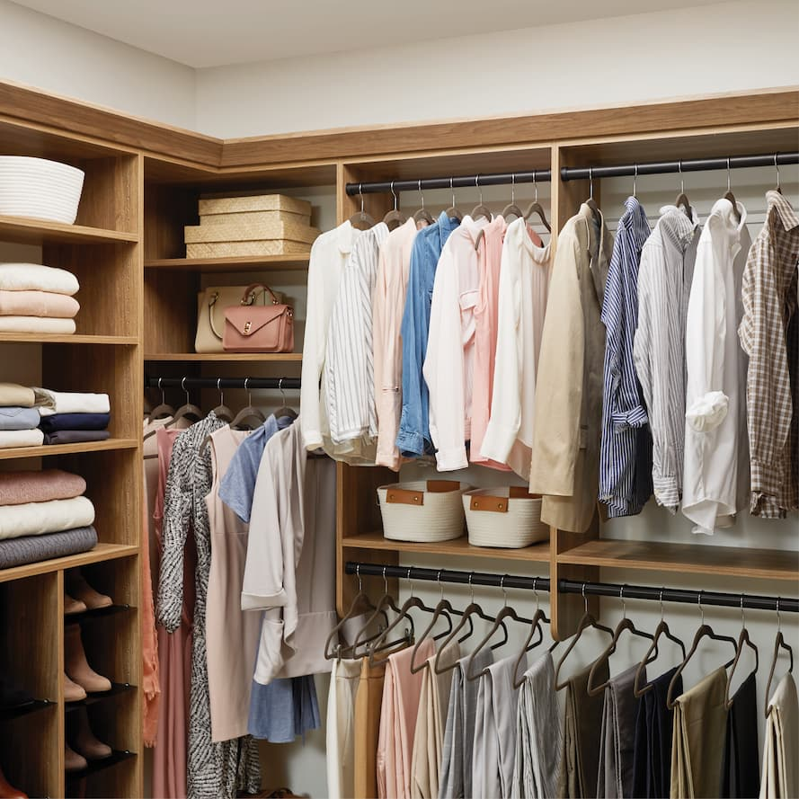 Take inventory of your closets when preparing for a move according to Inspired Closets