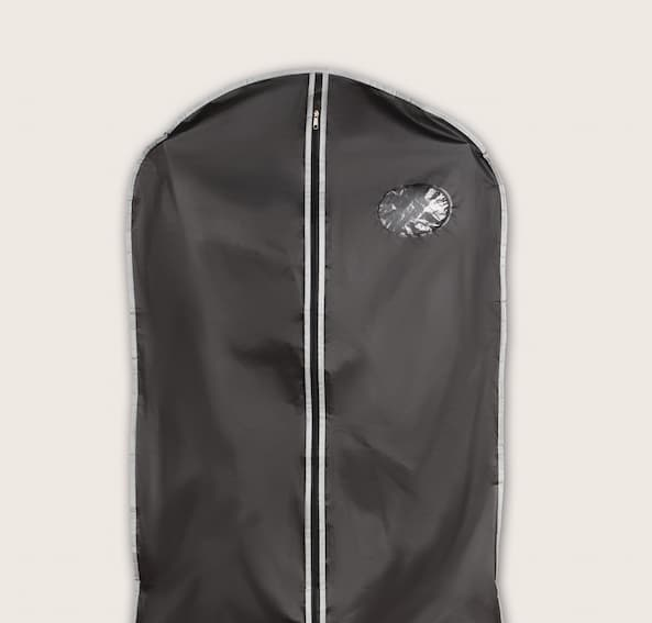 Utilize garment bags for your hanging cloths when preparing for a move