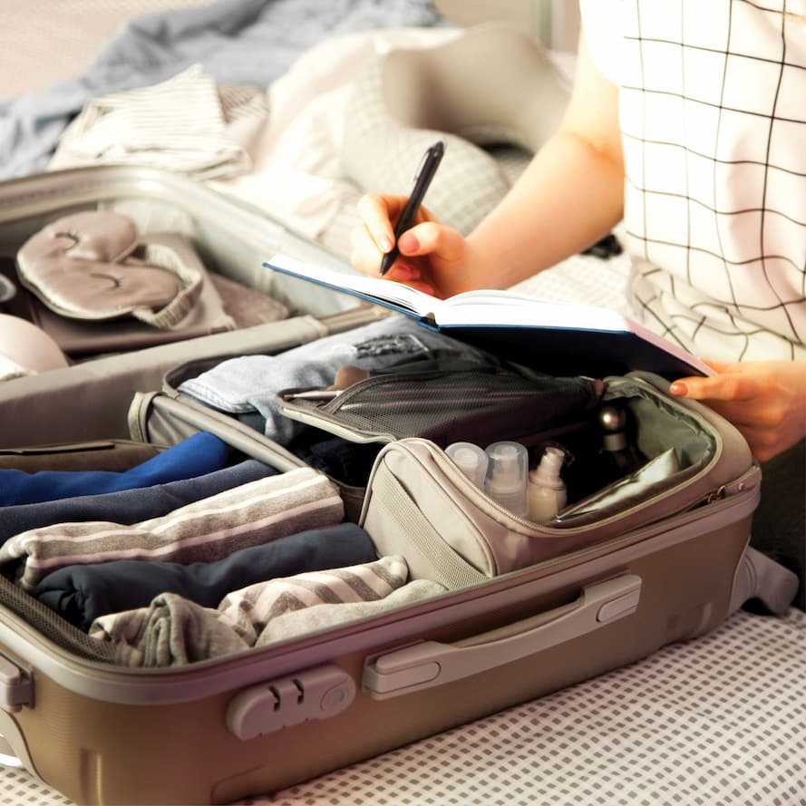 Utilize all your suite cases when you are prepping for a move