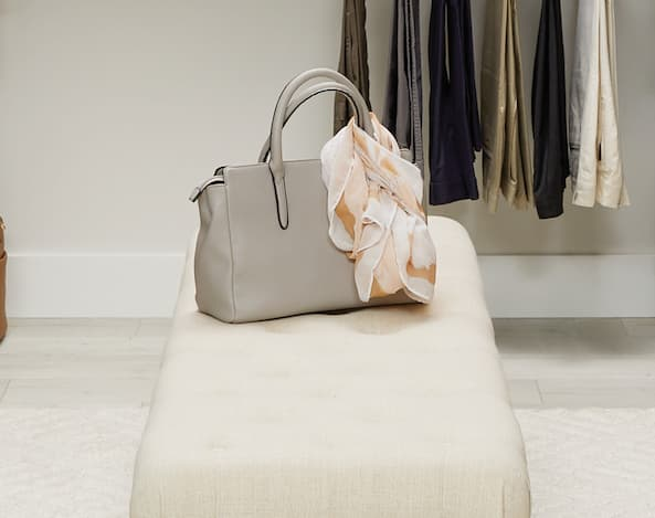 Packing handbags for a move according to Inspired Closets