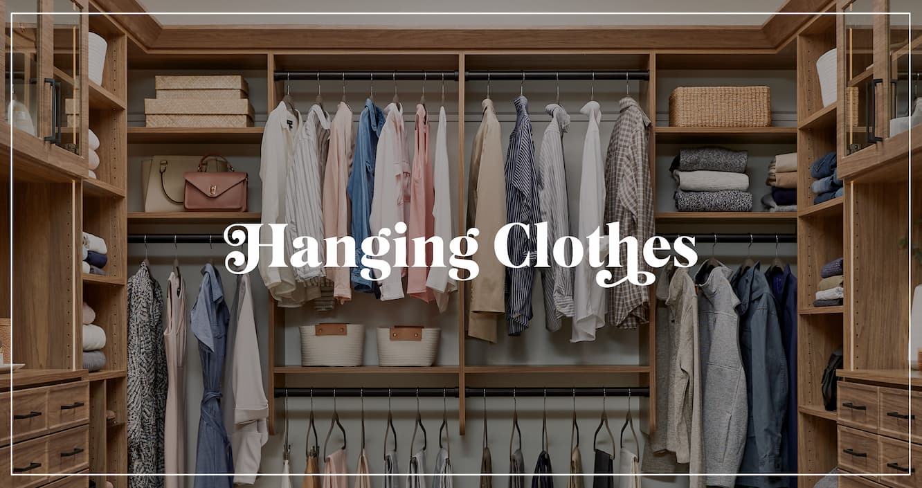 Packing hanging cloths for a move according to Inspired Closets