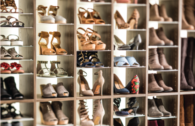 6 gensious ways to organize your families shoes from Inspired Closets