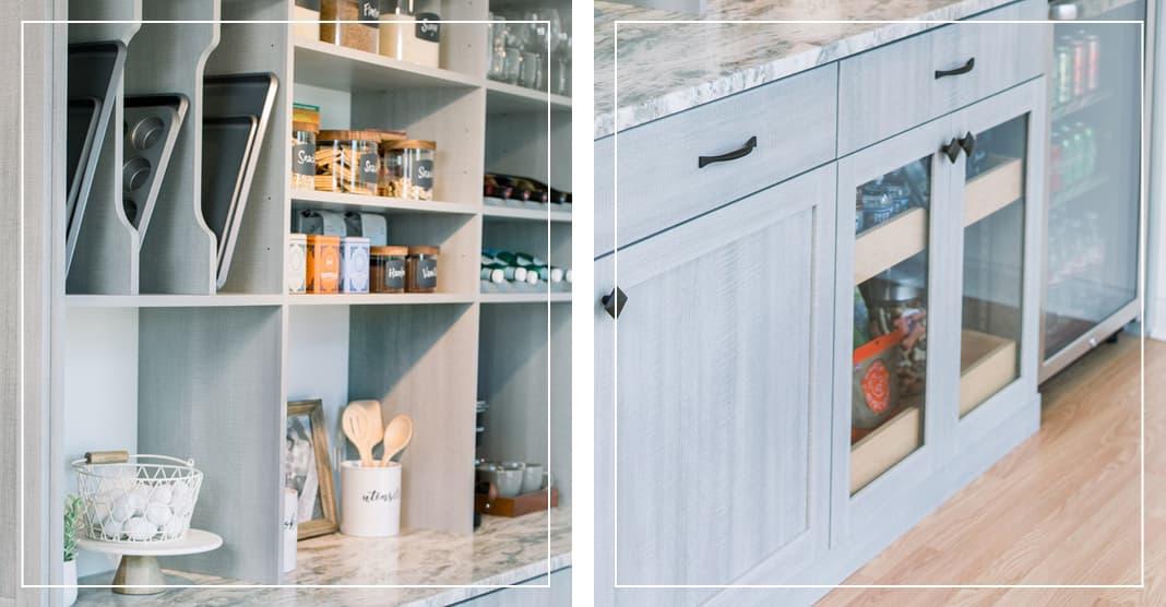 Rustic farmhouse pantry design trends