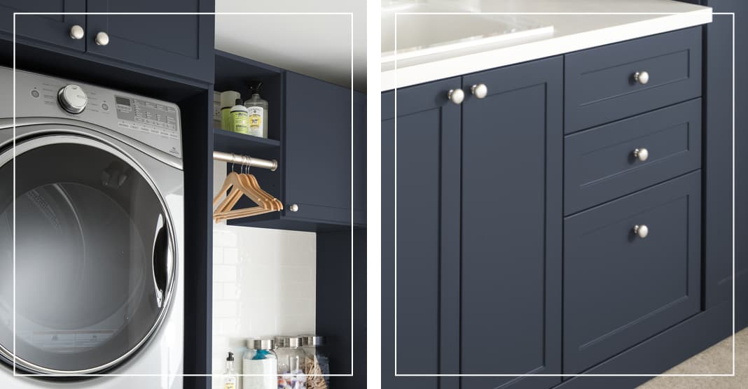 Design trends for laundry room from Inspired Closets